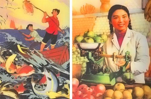 Chinesische Porpagandaplakate