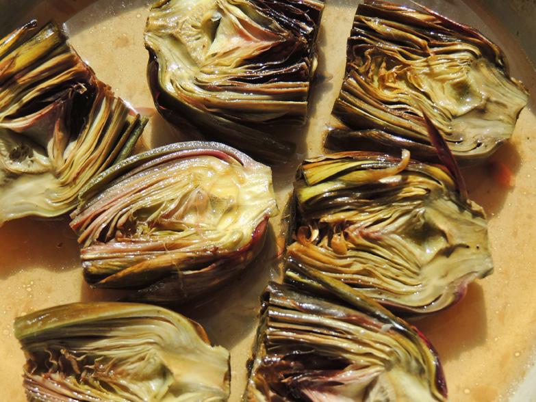artischocken-gebacken