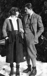 Ernest Hemmingway mit Ehefrau Hadley
