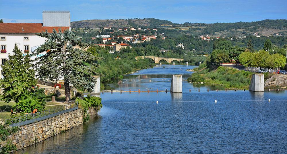 La Loire à Brives-Charensac