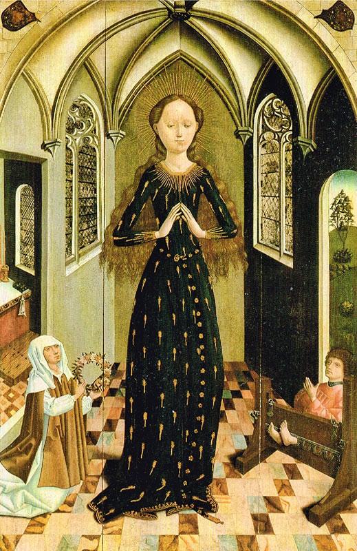 Maria im Ährenkleid - Maria zur Wiese in Soest